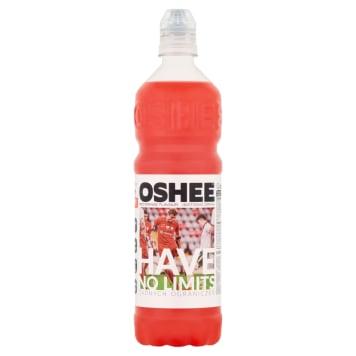 Oshee Napój izotoniczny o smaku czerwonej pomarańczy słodzony stewią.