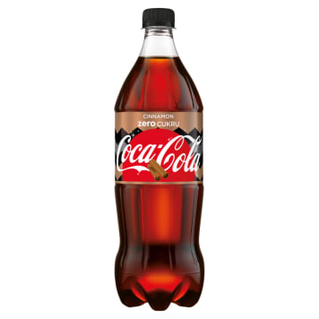 COCA-COLA ZERO CINNAMON Fizzy drink 1l