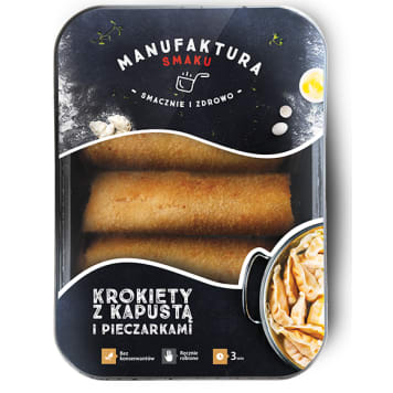 MANUFAKTURA SMAKU Croquettes with cabbage and mushrooms 450g