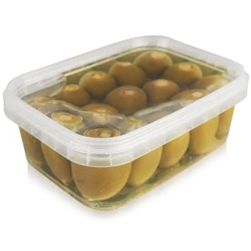 ORZEŁ POLSKA Green olives stuffed with cream cheese mass in vegetable oil 230g