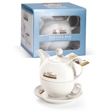 SIR WILLIAM'S Baby DUO Jug with a cup and stand 1pc