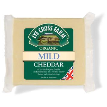 LYE CROSS FARM Cheddar cheese, mild BIO 200g