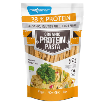 MAXSPORT Organic Protein Fettuccine pasta with green soy and quinoa gluten-free BIO 200g