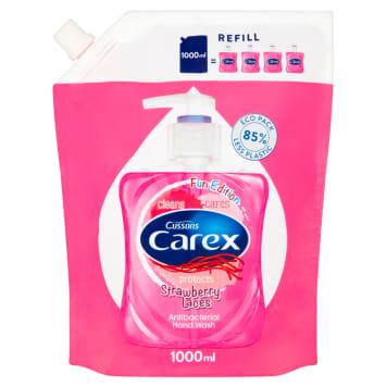 CAREX Antybakteryjne mydło w płynie Strawberry Candy - uzupełnienie 1l