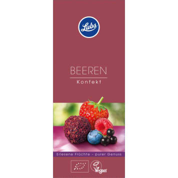LUBS Fruit pralines with BIO berries 80 g