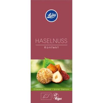 LUBS Pralines with BIO hazelnuts 80g