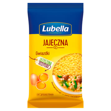 LUBELLA Jajeczna Star pasta 250g