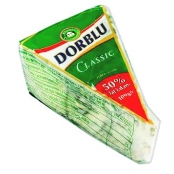 Ser miękki z porostem niebieskiej pleśni - Dorblu. Doskonały na desce serowej lub do kanapek.