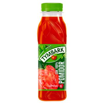 Tymbark - Sok pomidorowy 100% z dodatkiem soli. Dobrze działa na organizm dzięki licznym witaminom.