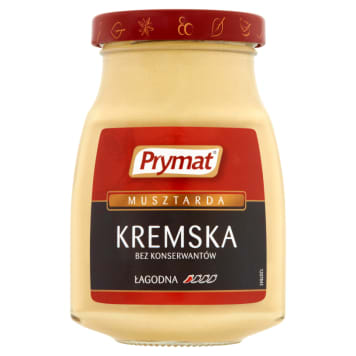 PRYMAT Cream Mustard 185g