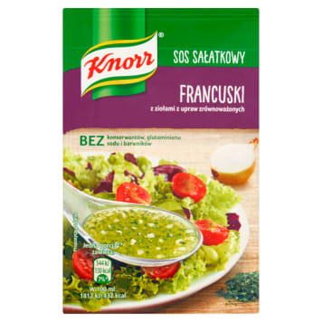 KNORR French salad dressing 8g