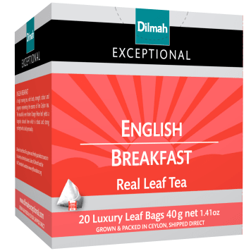 DILMAH Exceptional Black tea English Brekfast 20 bags 40 g