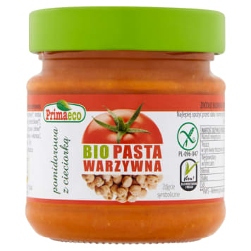 Pasztet pomidorowy z cieciorką - Primaeco