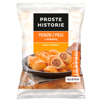 PROSTE HISTORIE Dumplings from the oven with beef 400g