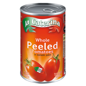 LA CATERINA Pelati Tomatoes whole without skin in juice 400 g