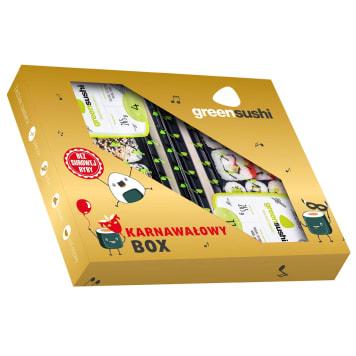 GREEN SUSHI Zestaw sushi Karnawałowy Box 530g