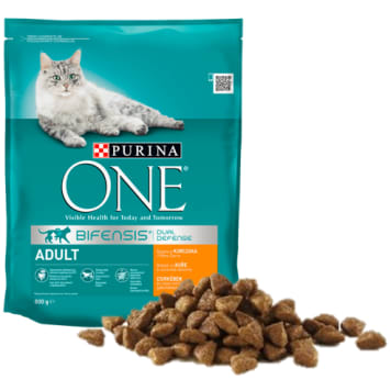 PURINA ONE Adult Adult cat food rich in chicken and whole grains 800g
