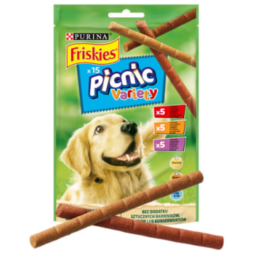 FRISKIES Picnic Variety Delicacy for dogs 15 pcs 126g