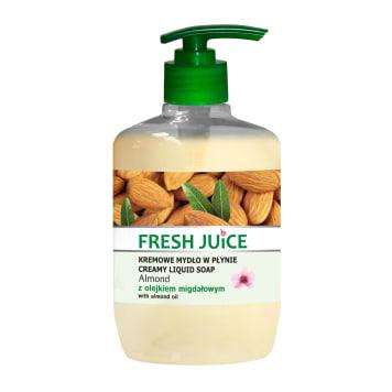 FRESH JUICE Kremowe mydło w płynie Migdał 460ml