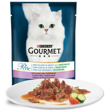Pokarm dla kotów 85g GOURMET Perle - karma, która gwarantuje najwyższą przyjemność jedzenia