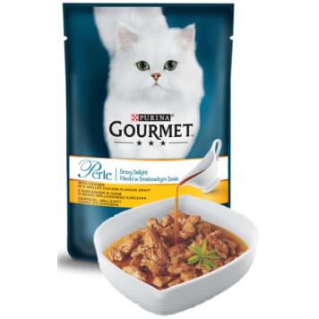 bd7f4d0d699ee2 GOURMET Perle Pokarm dla kotów- Fileciki w smakowitym sosie z kurczakiem 85  g