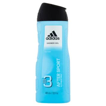 Żel pod prysznic do ciała, włosów i twarzy – Adidas to cytrusowa świeżość każdego dnia.