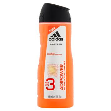 ADIDAS Adipower Shower gel for men Body Hair Face 400ml