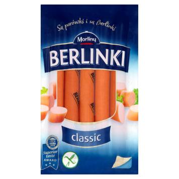 Parówki wieprzowe Berlinki - doskonałe na ciepło i zimno - Morliny