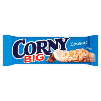 CORNY Big Coconut cereal bar with milk chocolate 50g