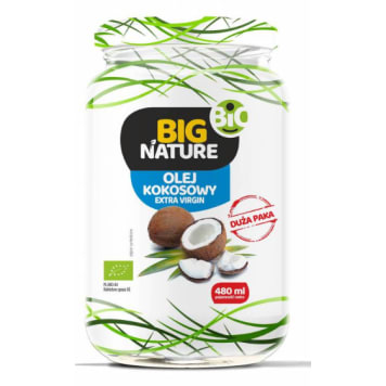 BIG NATURE Coconut oil Extra Virgin BIO 900ml