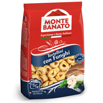 MONTE BANATO Tortellini with mushrooms 250 g
