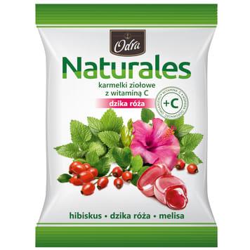 ODRA Naturales Herbal candies with vitamin C Wild Rose 60g