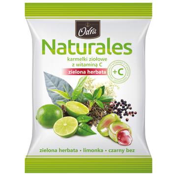 ODRA Naturales Herbal candies with vitamin C Green Tea 60g