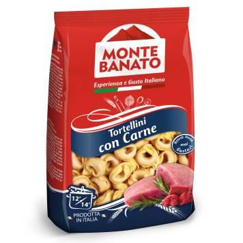 MONTE BANATO Tortellini with meat 250g