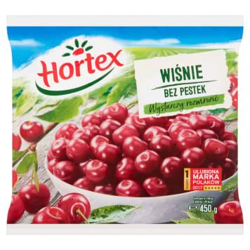Wiśnie bez pestek - Hortex. Wyróżniają się wyjątkowym smakiem oraz są w pełni naturalne.
