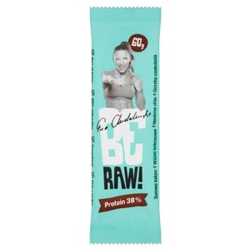 BE RAW! Protein bar 38% - raw cocoa in dark chocolate 60g