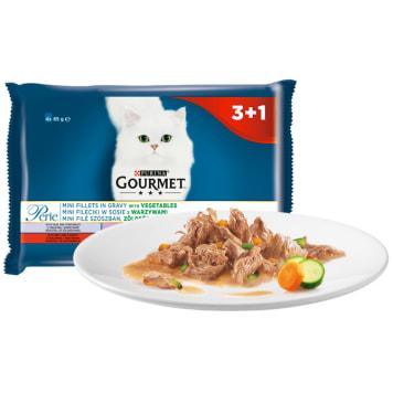 Pokarm dla kotów - Gourmet Perle. Produkt, który pokochają wszystkie futrzaki.