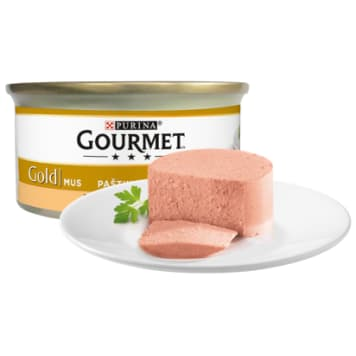 GOURMET Gold Complete food for adult cats with turkey 85 g