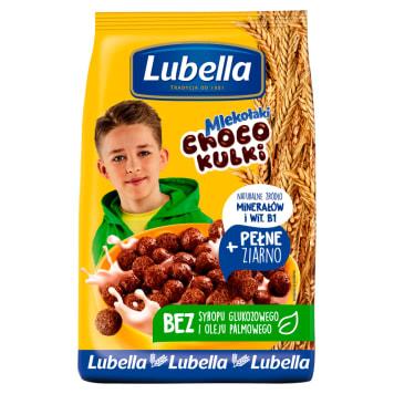 Lubella Mlekołaki – czekoladowe kulki śniadaniowe 500g. Szybki pomysł na pożywne śniadanie.