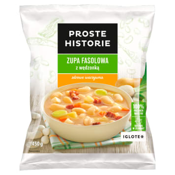 PROSTE HISTORIE Bean soup with smoked meat 450 g