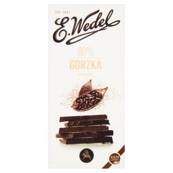 WEDEL Premium bitter chocolate 80% 100g