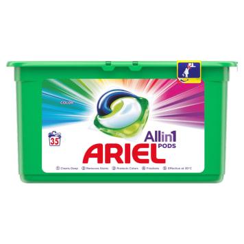 ARIEL COLOR Capsules for washing light fabrics 35 pcs. 1pc