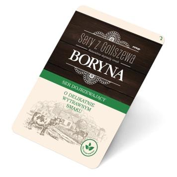 Ser Boryna w plastrach - Sery z Goliszewa. Ser o charakterystycznym, szwajcarskim smaku.