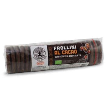 GANDOLA Cookies with pieces of vegan chocolate BIO 250g