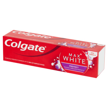 COLGATE MAX WHITE Toothpaste with fluoride White&Protect 75ml