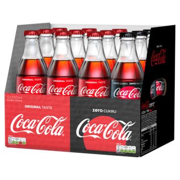 COCA-COLA Mix case 9xCoca-Cola 330ml & 3xCoca-Cola Zero 330ml 3.96l