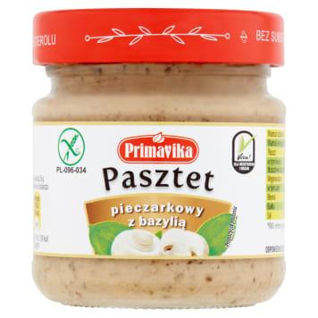 PRIMAVIKA Mushroom pate with gluten-free basil 160g