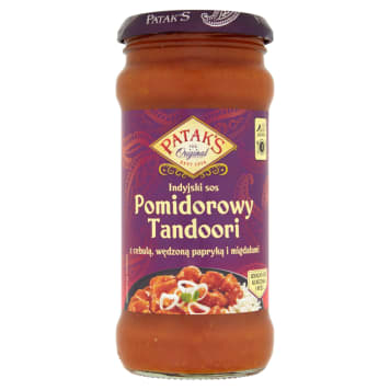 PATAK'S Tandoori - indyjski sos pomidorowy 350g