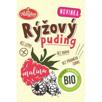 AMYLON Rice pudding with raspberry-free raspberry flavor BIO 40g