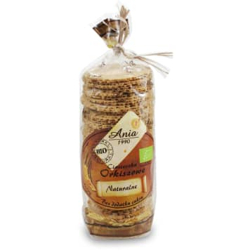 ANIA Natural spelled cookies without added sugars BIO 120g